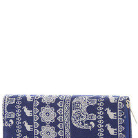 Elephant Dream Wallet- Navy