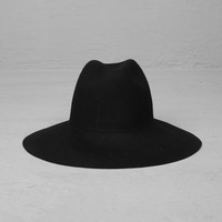 Mens Woolen Huge Wide Brimmed Floppy Hat Fedora at Fabrixquare