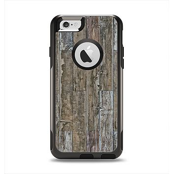 The Straight Aged Wood Planks Apple iPhone 6 Otterbox Commuter Case Skin Set