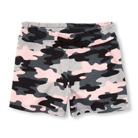 Girls Matchables Printed Knit Short | The Children's Place