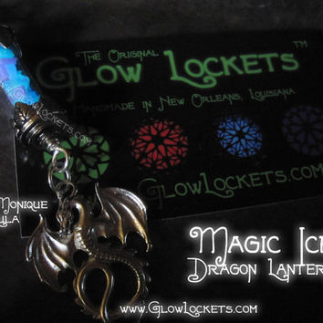 Magic Ice Dragon Glow Lantern