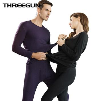 Winter Mens Warm Thermal Underwear Couple Male Long Johns Set Second Thermal Female Skin