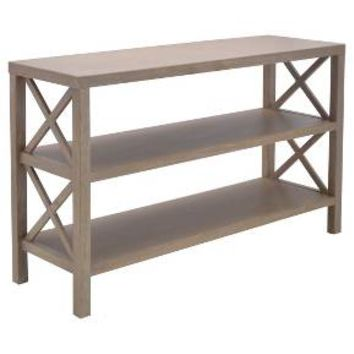 Owings Console Table with 2 Shelves - Threshold™
