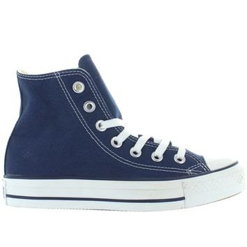 Converse All-Star Chuck Taylor Hi - Navy Canvas High-Top Sneaker 7723b97f3
