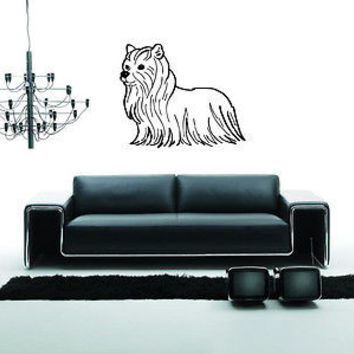 Maltese Dog Puppy Breed Pet Animal Family Wall Sticker Decal Mural 2816