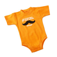 """AM I TOO LATE...?"" BABYSUIT 