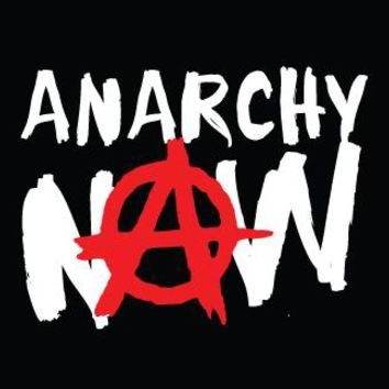 Anarchy Cloth Patch - Anarchy Now