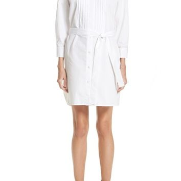 Burberry Madeline Cotton Poplin Shirtdress | Nordstrom