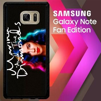 Marina And The Diamonds Z1529 Samsung Galaxy Note FE Fan Edition Case