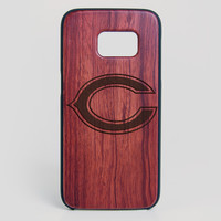Chicago Bears Galaxy S7 Edge Case - All Wood Everything