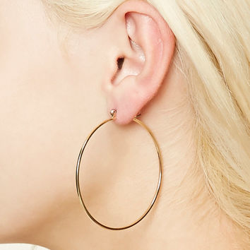 High-Shine Hoop Earrings
