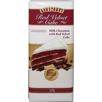Redstone Red Velvet Cake Chocolate Bar