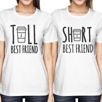 Cute Best Friend Matching T Shirt Size S-XXL