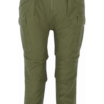 NLST - Cargo cotton-canvas tapered pants
