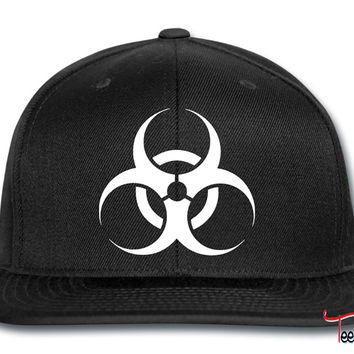 Biohazard Caution Snapback