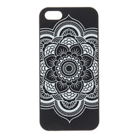 Black & White Mandala Phone Case