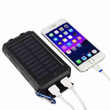 10,000mAh Solar Power Bank