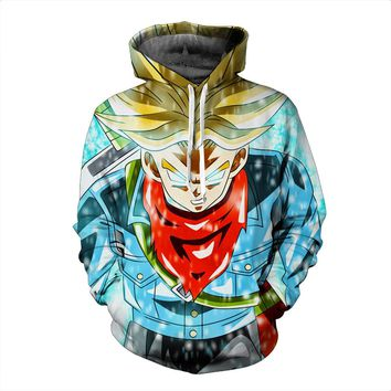 vegetto Blue Dragon Ball Z Hoodies 3d Hoodies Pullovers Sportswear Hooded Sweatshirts Mens Sleeve Son Goku Hoode Dragon Ball Z