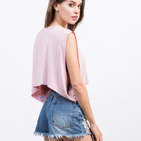 Cropped Swing Top