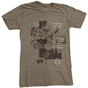 Medium Format Photography - Tri-Coffee - Unisex Shirt