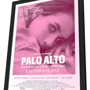 Palo Alto 11x17 Framed Movie Poster (2014)