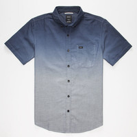 Rvca That'll Do Dip Mens Shirt Navy  In Sizes