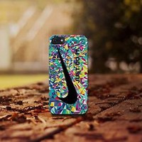Geometric Nike just Do it for iphone 4 5 5c 6 6plus, samsung S4 S5 case cover