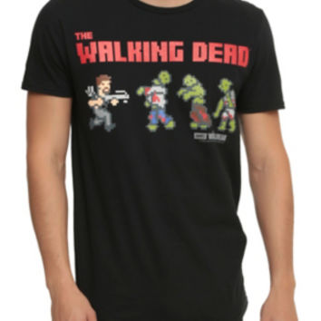 The Walking Dead 8-Bit T-Shirt
