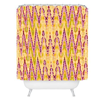Ingrid Padilla Bohemian Romantic Yellow Shower Curtain