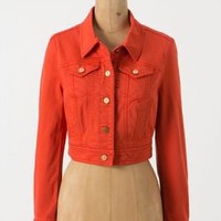 Pilcro Cropped Denim Jacket - Anthropologie.com