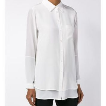 VINCE | Classic Collared Shirt | Womenswear | Browns Fashion