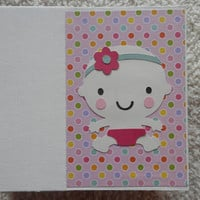 6x6 Baby Girl Scrapbook Album
