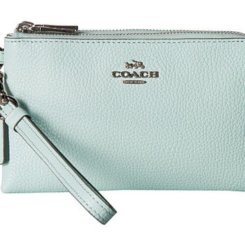 COACH Double Corner Zip
