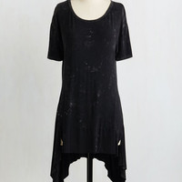 ModCloth Long Short Sleeves All Kinds of Edgy Top