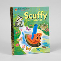 buyolympia.com: Little Golden Book - Scuffy The Tugboat
