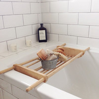 Vintage bath caddy