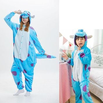 Animals Kigurumi Cosplay Costumes Adult Kids Onesuits Cartoon Pajama Family Carnival Suit Halloween Festival Party Outfit Fancy
