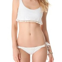 Beach Riot Stone Cold Fox Romance Bikini Bottoms | SHOPBOP