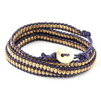 Pree Brulee - World Traveler Wrap Bracelet - Purple