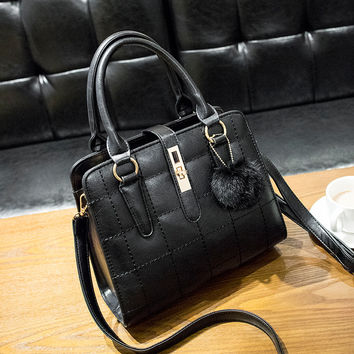 Chic Style Small Leather Crossbody Handbag Shoulder Bag