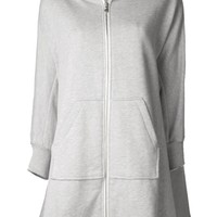 Drifter Long Zip Up Hoodie