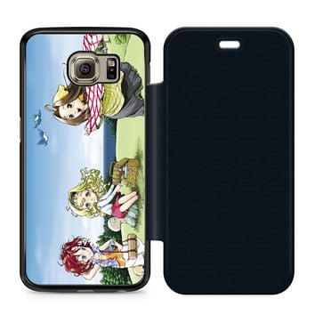 Harvest Moon a Wonderful Life Flip Samsung Galaxy S6 Case