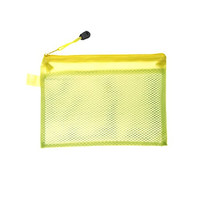 Uxcell Portable Handy Strap Water Resistant File Document Bag, Yellow