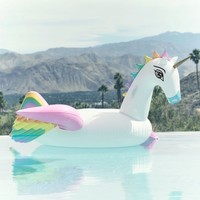 Funboy Inflatable Rainbow Unicorn Float