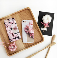 Beautiful flowers phone case for iPhone 7 7plus 6 6S 6plus 6Splus 1110J01