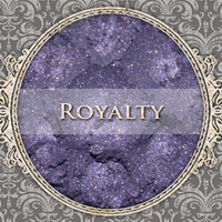 ROYALTY Mineral Eyeshadow: 5g Sifter Jar, Royal Violet Purple, Natural Cosmetics, Shimmer Eyeshadow