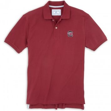 GAMEDAY SKIPJACK POLO - UNIVERSITY OF SOUTH CAROLINA - BLOCK CStyle: 2285_USC05, 2285_USC06