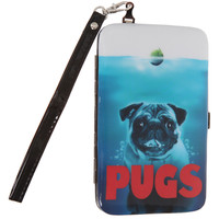 Pugs Galaxy S3 Phone Hinge Wallet