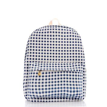 ICIKIX3 Fashion Stylish Plaid Backpack = 4887580740