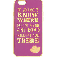 Disney Alice In Wonderland Cheshire Cat IPhone 6 Case